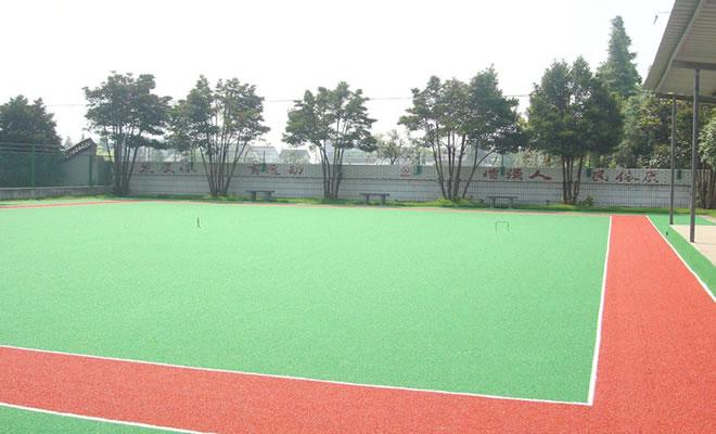 门球场人造草坪施工阶段方案