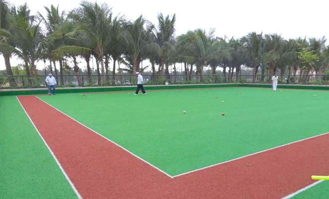 运动场人造草坪工程测量及放样施工方案